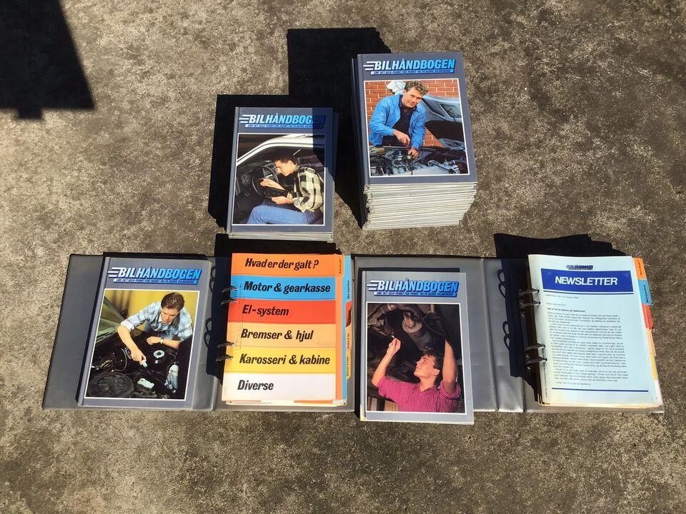 Reparationshåndbøger, Bilhåndbøger
