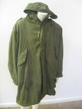 Vintage M-1951 M-51 Fishtail Parka with Liner Size MEDIUM