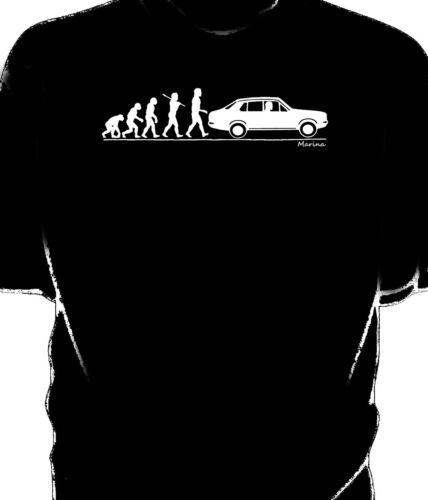 Morris Marina t-shirt Evolution of Man