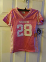 Wisconsin Badgers Girls Toddler Jersey Size : 2t
