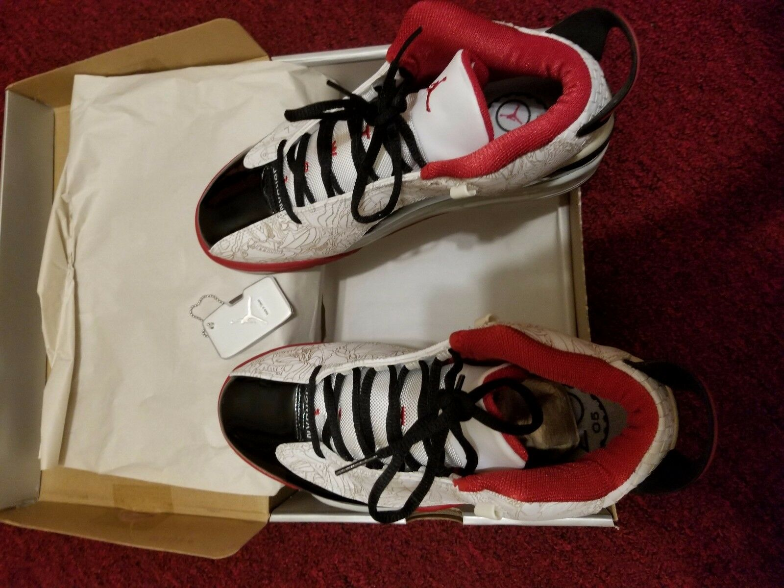 2006 NIKE AIR JORDAN DUB ZERO RED VNDS 8.5 311046-103 OG RETRO MAX Brand discount New shoes for men and women, limited time discount