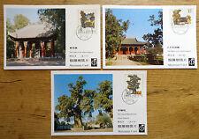 VR China MC 3 T84 MiNr. 1867 - 1869 Yellow Emperior Maximum Card Maximumkarten