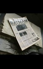 1/6 Scale Toy DC Batman Action Figure Gotham Times Newspaper Comic Movie Knight