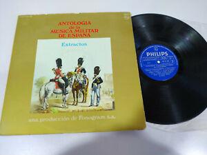 Antologia-de-la-Musica-Militar-de-Espana-1972-LP-Vinilo-12-034-VG-VG