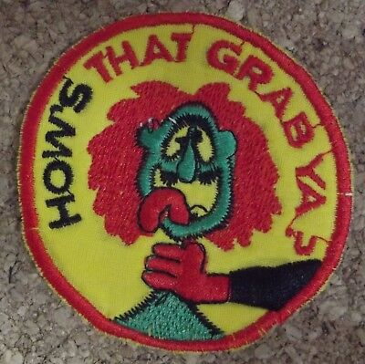 How's That Grab Ago Good For Antipyretic And Throat Soother Special Forces Us Vietnam Temperate Patch/patch