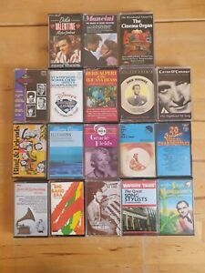 audio music cassette tapes bundle joblot x 18 as pictured mct13