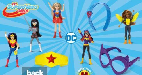 McDonald/'s 2019 MARVEL/'S AVENGERS /& 2016 DC JUSTICE LEAGUE /& SUPERHERO GIRLS