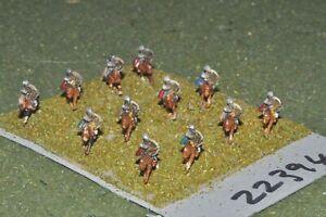 10 Mm Dark Ages/arabe-horse Archers 12 Figures-cavalerie (22394)-afficher Le Titre D'origine