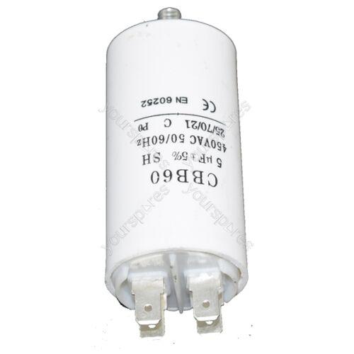 Universal 5UF Microfarad Appliance Motor Start Run Capacitor Fits Zoppas
