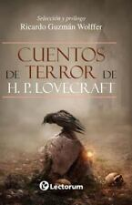 Cuentos de Terror de H. P. Lovecraft: By Guzman Wolffer, Ricardo