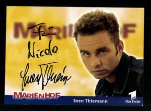 Hilfreich Sven Thiemann Marienhof Autogrammkarte Original Signiert # Bc 139652 Reinigen Der MundhöHle. Sammeln & Seltenes