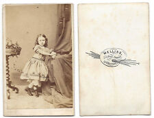 CDV Victorian Child Carte de Visite Photograph by Melliss of Liverpool