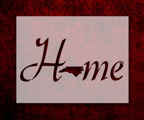 "699 North Carolina State Home Love 8.5/"" x 11/"" Stencil FAST FREE SHIPPING"