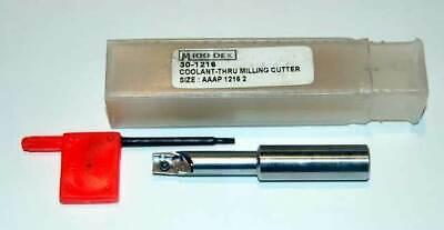 """Akuma APPS.10.087.R-L.075 RH 7//8/"""" Dia-90 X-Long End Mill for APKT1003 Inserts"""
