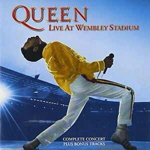 QUEEN The Vinyl Collection n° 19 Live At Wembley Stadium (3 LP) Vinile