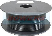 100M BLACK THIN WALL CABLE SINGLE CORE 16/0.20 0.5MM AUTO WIRING CAR VAN MARINE
