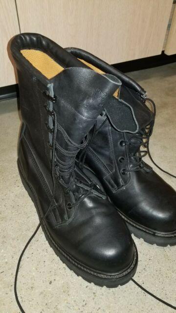 Bates 11460 Mens 9 W Gore-Tex Best Defense Black Leather Military Combat Boots