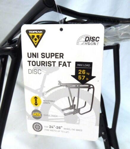 Topeak Uni Super Tourist Fat Bike Disc