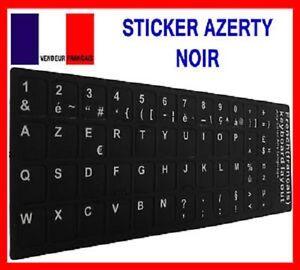 AUTOCOLLANT-STICKERS-AZERTY-POUR-CLAVIER-PC-TOUCHE-FRANCAIS-A-FOND-NOIR
