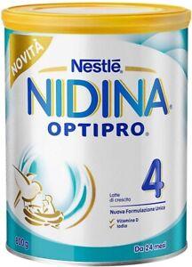 Nestlé Nidina OPTIPRO 4 da 24 Mesi Latte di Crescita in Polvere...
