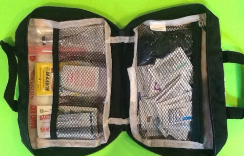Johnson & J First Aid Kit w/ 97 Items Emergency Medical Survival Prepper Bug Out