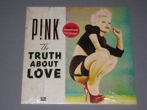 PINK-The-Truth-About-Love-2LP-New-Sealed-Vinyl-2-LP