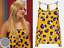 Leopard Print Y Us 32 Vest Uk Top Topshop 0 34 Blue Yellow 6 White Blouse 2 4 ggpITq