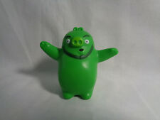 2010 McDonald's Angry Birds Pilot Pig Character Happy Meal Toy Figure Only