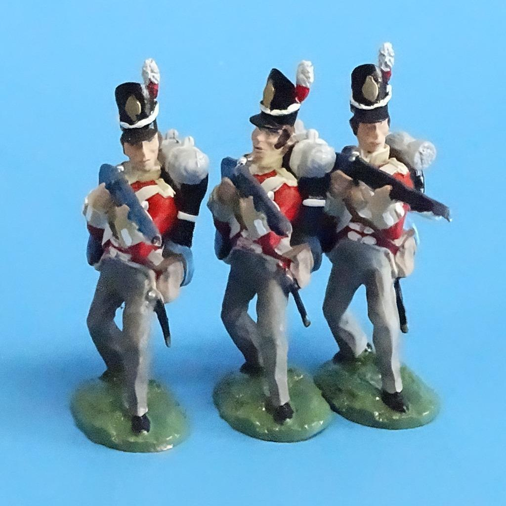 CORD-N0167 - British Infantry - Standing Firing (3 Pieces) - Napoleonics