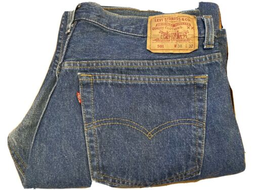 vintage levis 501 made in usa 38x32 never worn - image 1