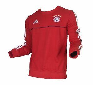 Details zu FC Bayern München Sweatshirt Trainingstop Adidas 201718 Herren S