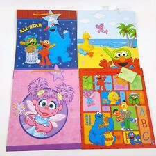 Item 3 4 PACK LOT SESAME STREET GIFT BAGS MEDIUM SIZE BIRTHDAY ELMO COOKIE MONSTER ABBY