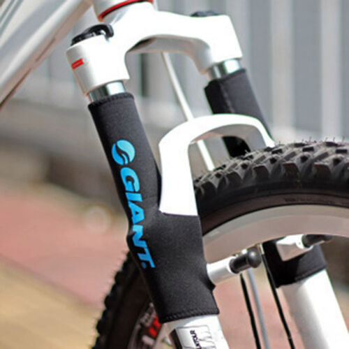 Pair of Bicycle Front Fork Protective Cover Case Prevent the Rust Outdoot Sports