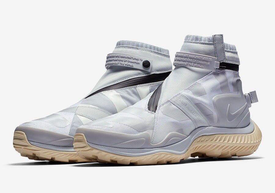 Brand New Mens Nike NSW Gaiter Boot AA0530-100 White Pure Platinum Size 15