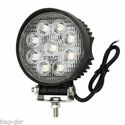 Auto & Motorrad: Teile LED Arbeitsleuchte 12V 24V 27W LED