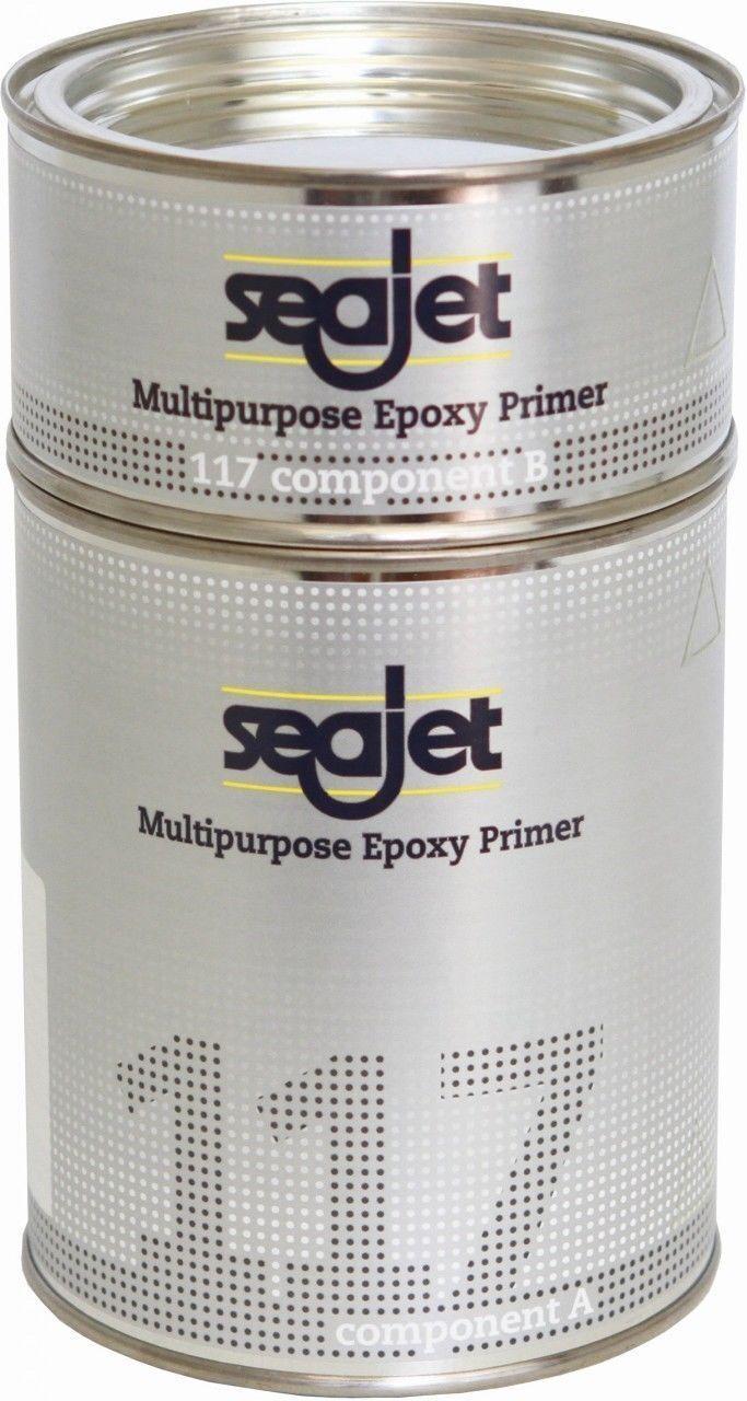 Seajet 117 Epoxy Primer Primer Primer weiß 2-K Grundierung b056af