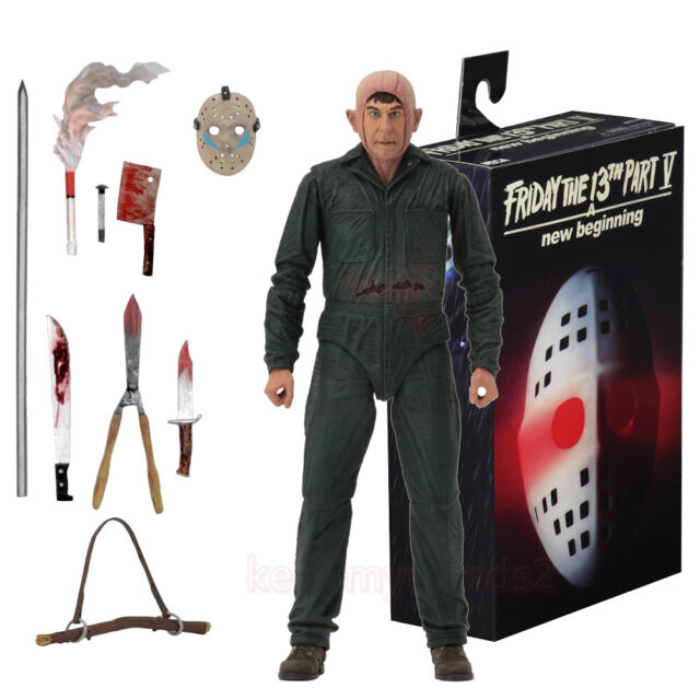 """Friday the 13th NECA 7/"""" Scale Action Figure Ultimate Part 5 Roy Burns"""