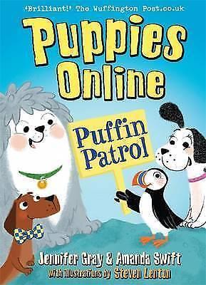 1 of 1 - Gray, Jennifer, Swift, Amanda, Puppies Online: Puffin Patrol, Very Good Book