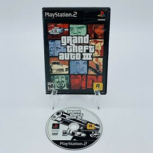 Grand Theft Auto III GTA 3 PS2 Sony PlayStation 2 Video Game No Manual Tested