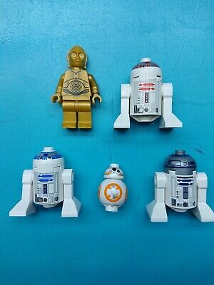 Lego Star Wars Astromech Droid R2 D2 D5  Minifigures Lot x 11  75159