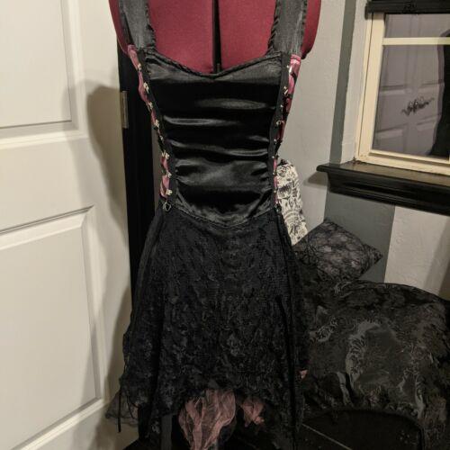 Lip Service Pink/Black pixie dress