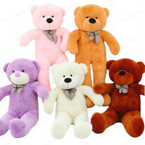 26ec472df12 2019 Large Teddy Bear Giant Kids Soft Big Plush Toys 80 100 120 ...