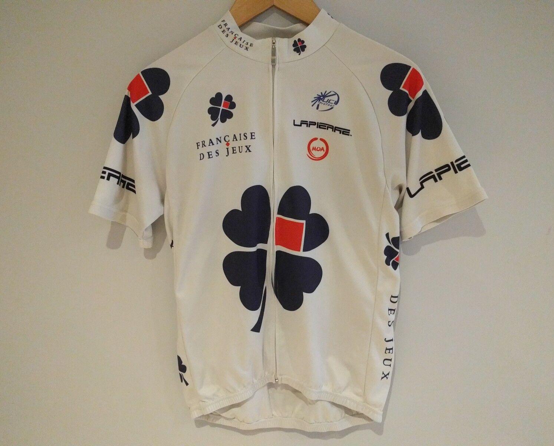 Cycling jersey Francaise des jeux LARGE