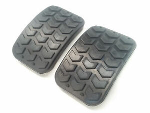 Details about MAZDA MX5 CONVERTIBLE SOFT TOP NA NB CLUTCH & BRAKE PEDAL  RUBBER ( 1 PAIR )