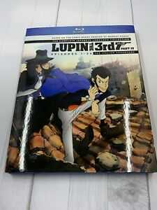 lupin the 3rd part 4 Blu Ray