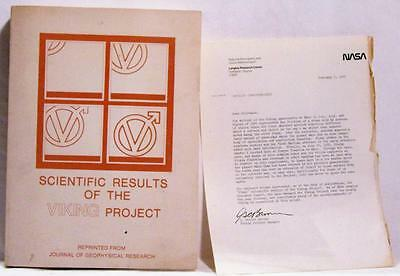 1976 Scientific Results Of The Viking Project Nasa Space Geophysical Research Sale Price