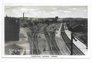Sudbury-District-CHAPLEAU-ONTARIO-C-P-R-Yards-amp-Stations