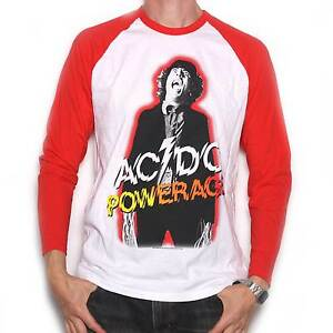 ffd1d08a4 AC DC T Shirt - Powerage Long Sleeve 100% Official Angus Young ACDC ...