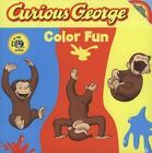 Curious George: Color Fun by H. A. Rey and Margret Rey (2007, Board Book)