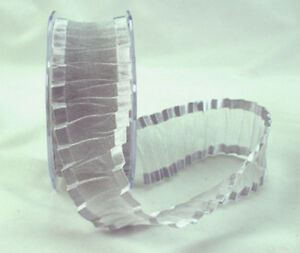 Silver-Crinkled-Satin-Edge-Organza-Ribbon-38MM-Wide